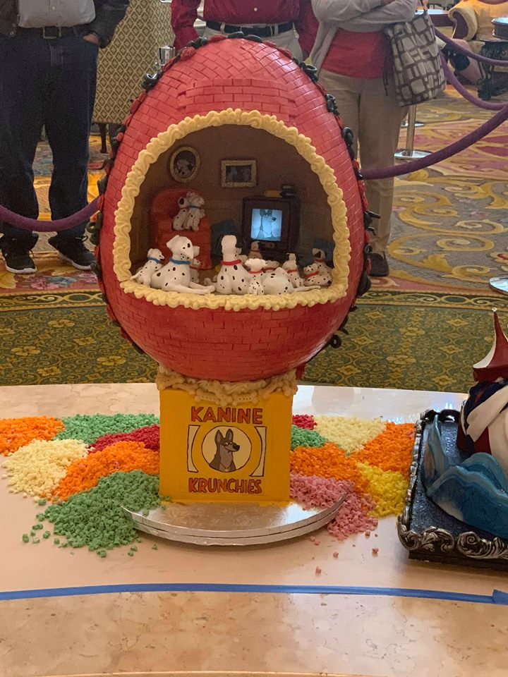 Missing the Chocolate Easter Egg Display at Disney's Grand Floridian Resort! 4