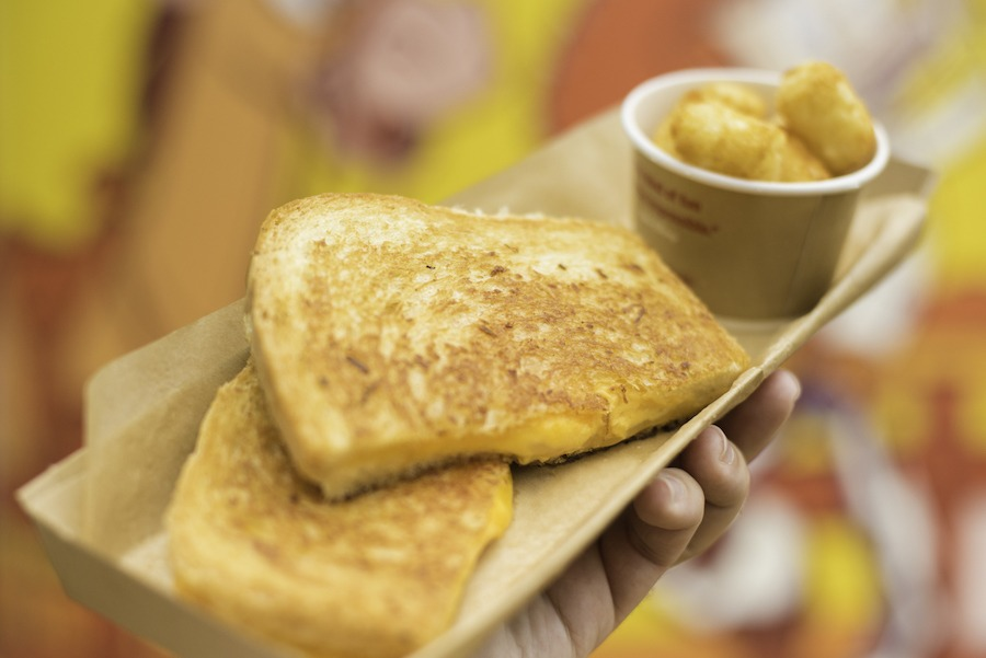 Grilled Three-Cheese Sandwich from Woody's Lunch Box at Disney's Hollywood Studios