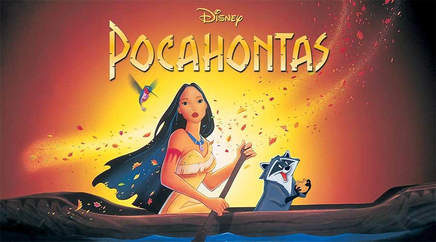 """Image of the movie """"Pocahontas"""""""