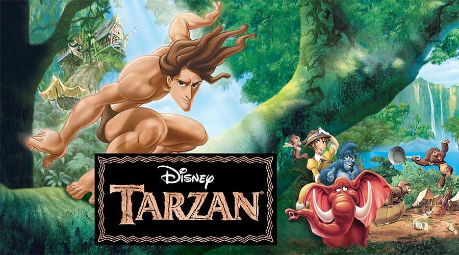 """Image of the movie """"Tarzan"""""""