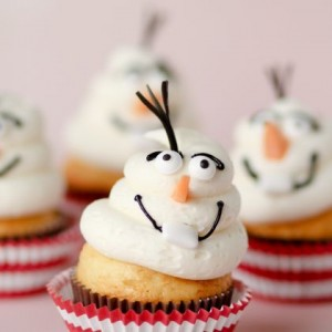 Frozen Inspired Cupcakes to Make at Home! 1