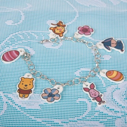 Winnie the Pooh Cute Easter Charm Craft 1