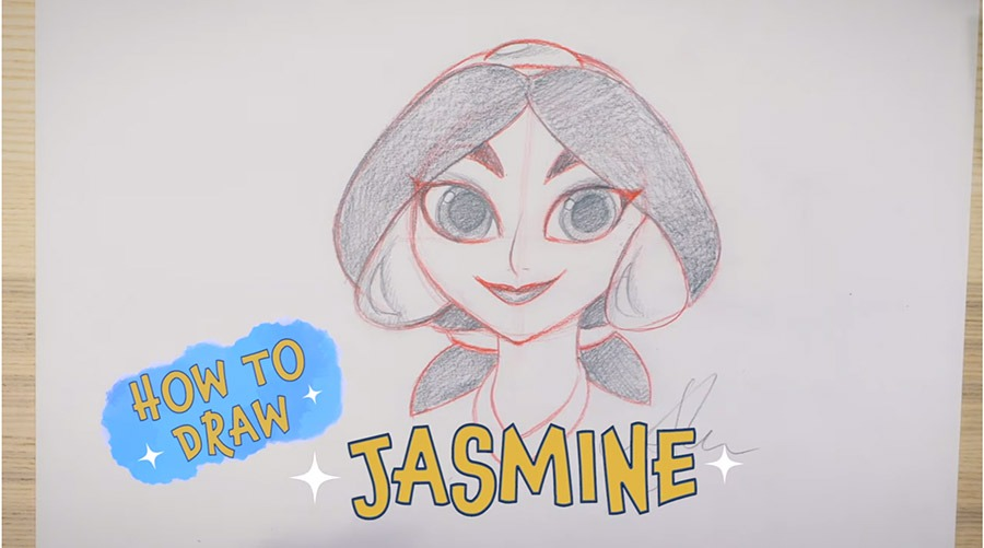 Learn to Draw a Disney Princess with a Disney Artist