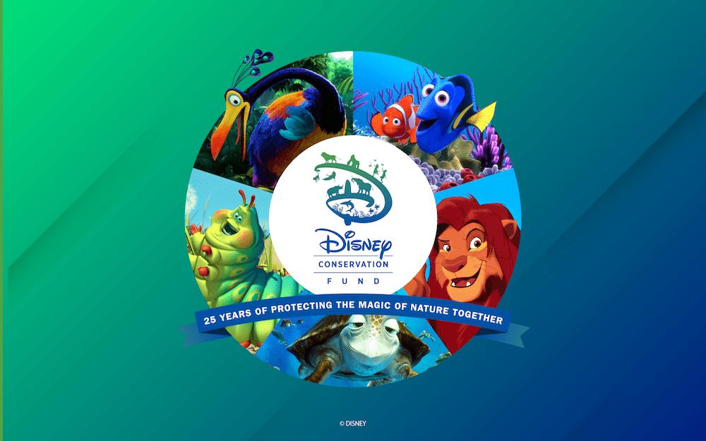 Disney Conservation Fund 25th anniversary wallpaper