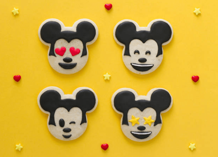 Mickey Emoji Sugar Cookies - Recipe 1