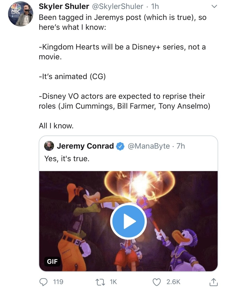 Kingdom Hearts TV Show Reportedly Headed for Disney+ 2