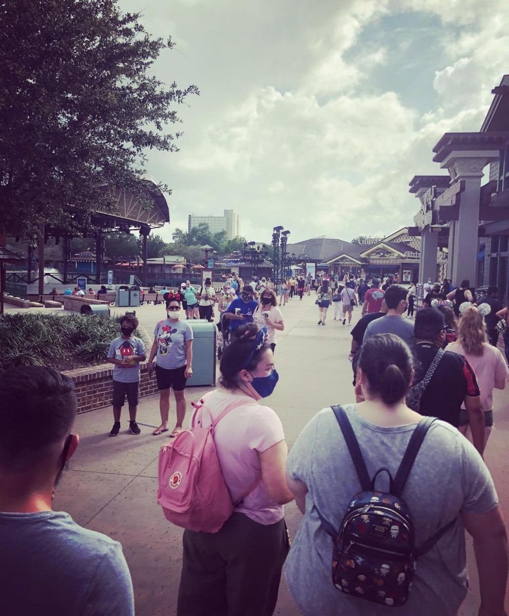 World of Disney Opening Day Pics #disneysprings 1