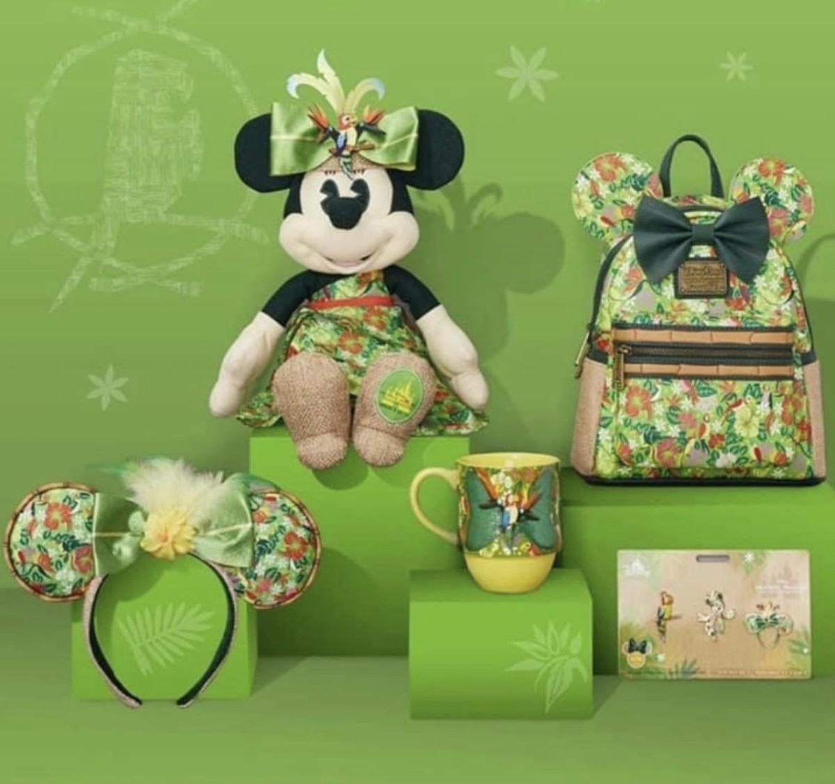 Minnie: The Main Attraction Collection, Enchanted Tiki Room 1