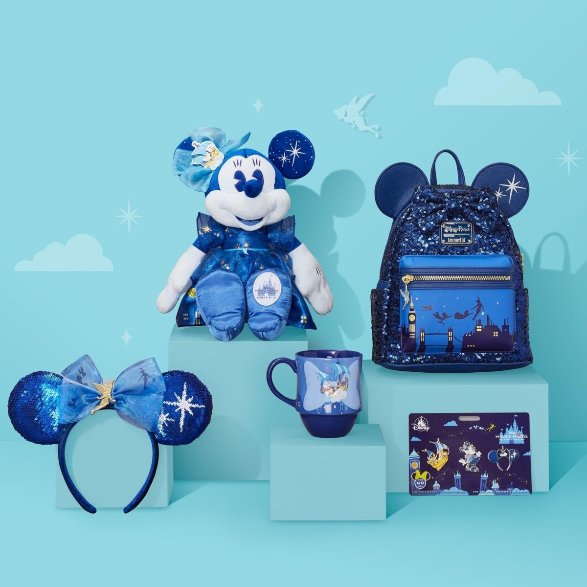 Minnie Mouse; The Main Attraction Merch Line for June! Peter Pan's Flight 1