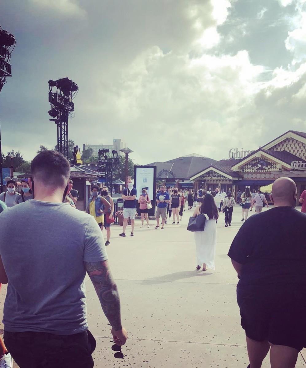 World of Disney Opening Day Pics #disneysprings 3