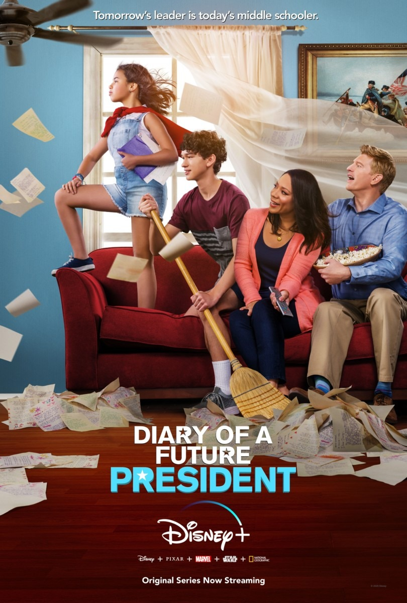 "DISNEY+ ORIGINAL ""DIARY OF A FUTURE PRESIDENT"" RETURNS FOR A SECOND SEASON 1"
