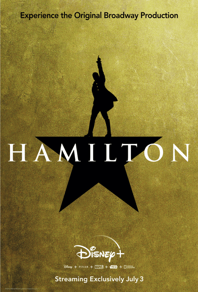 """""""Hamilton"""" Coming to Disney+ in July 1"""
