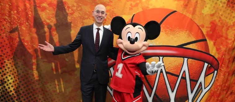 NBA PLANS TO RESTART SEASON IN JULY AT WALT DISNEY WORLD 1