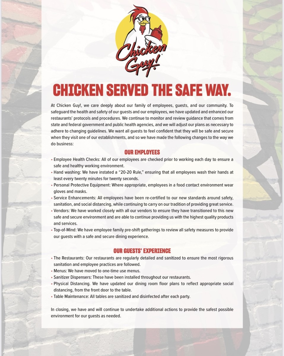 More Restaurant and Safety Info for Disney Springs 2