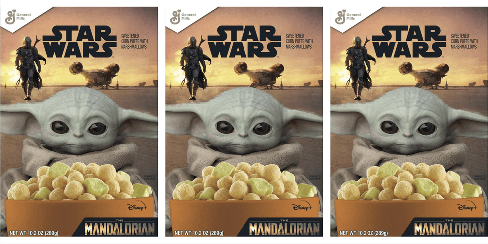 Baby Yoda Cereal is Coming Soon! 1