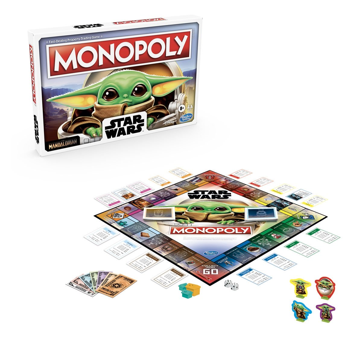 "Star Wars The Mandalorian ""The Child"" Edition Monopoly Game Preorder! 1"