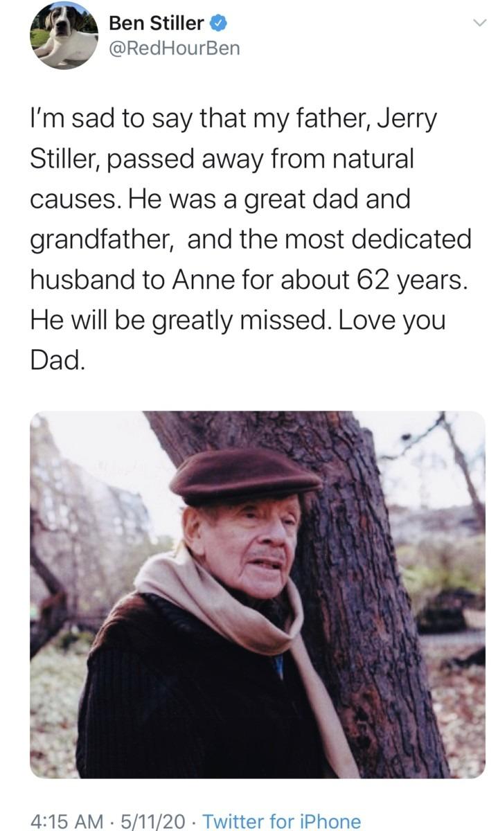 Comedian Jerry Stiller Passes at 92 2