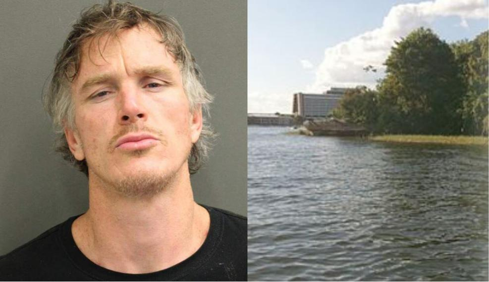 FL man gets busted camping on Disney's Discovery Island 1