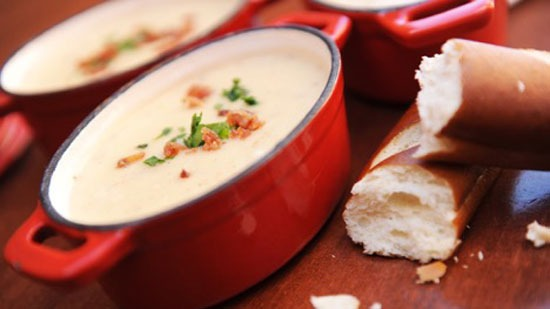 Canadian Cheddar Cheese Soup from Le Cellier Steakhouse at EPCOT