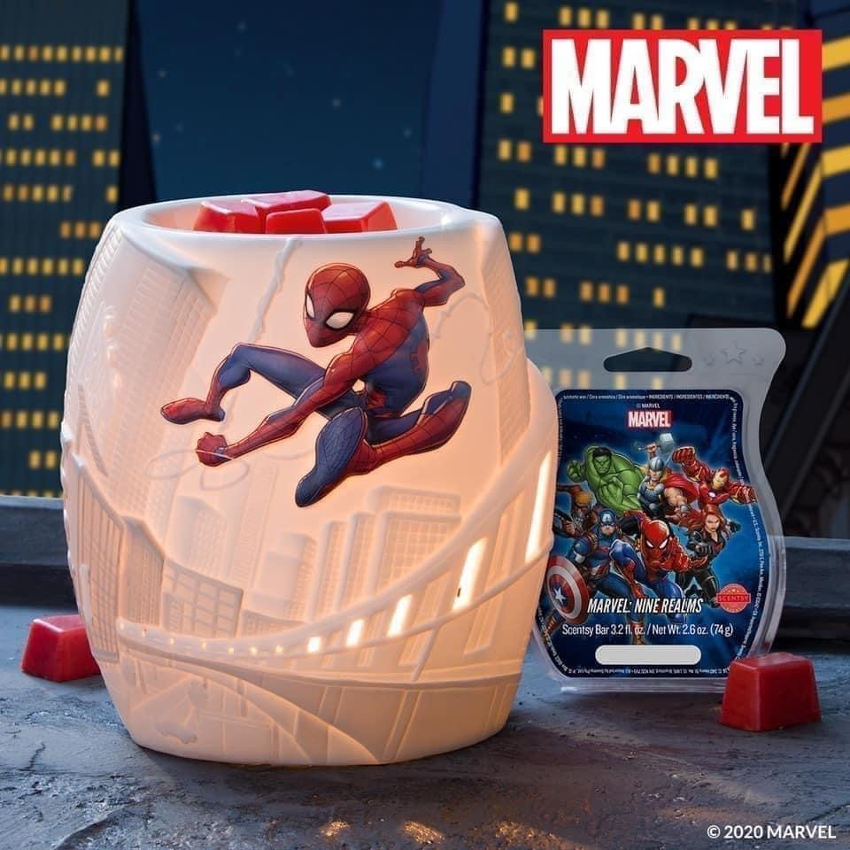 NEW Marvel Goodies from Scentsy! 5