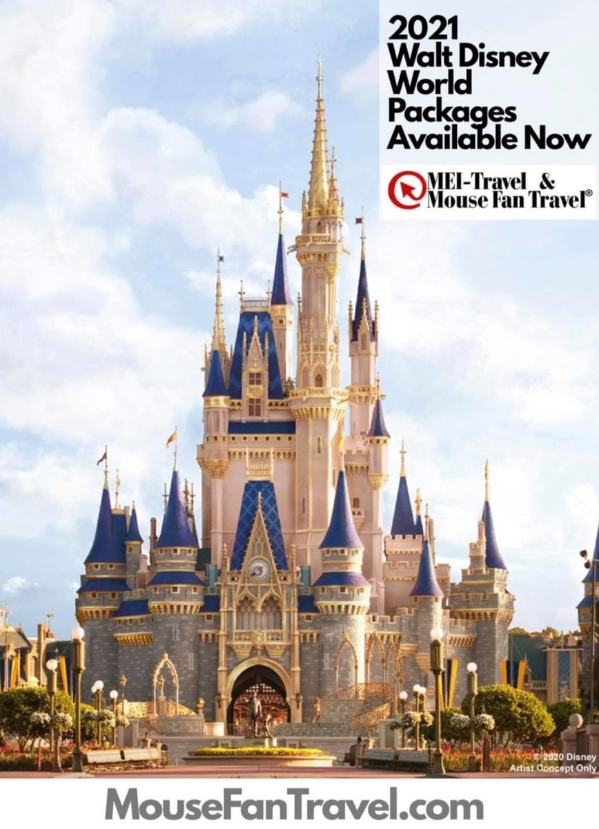 2021 Walt Disney World Resort Vacation Packages are Available for Booking Starting Today! 1