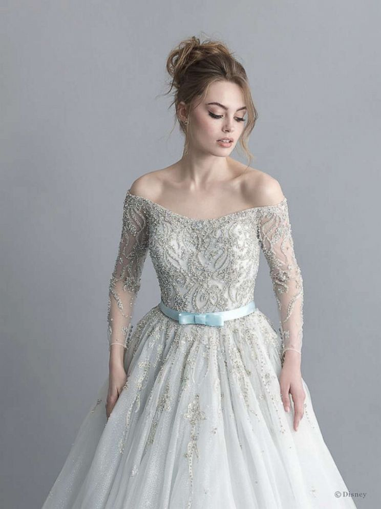 Allure Bridals debuts Disney Fairy Tale Weddings Collection 4