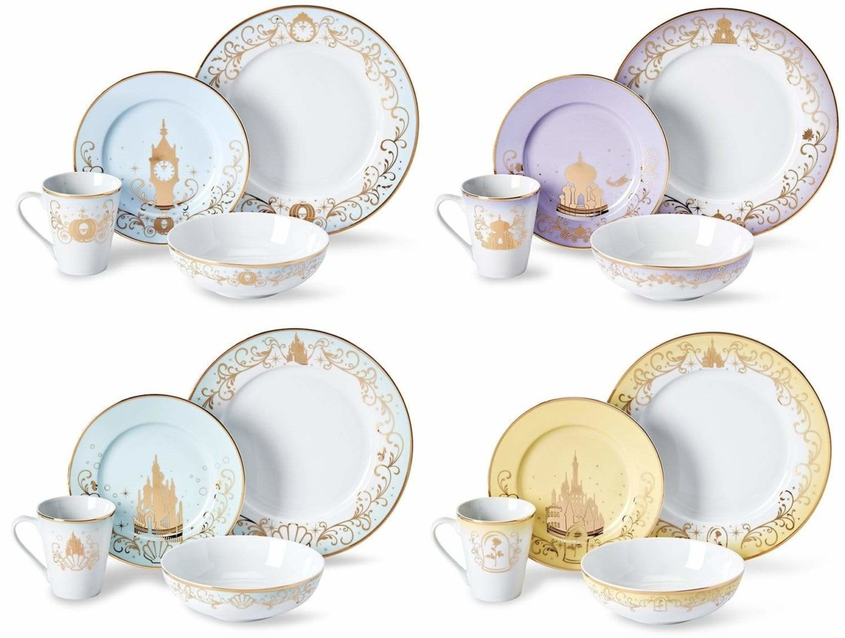 The Disney Princess Dinnerware Collection From Toynk 2