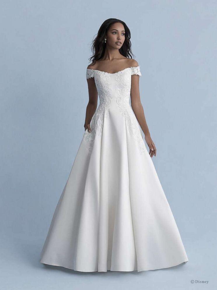 Allure Bridals debuts Disney Fairy Tale Weddings Collection 5