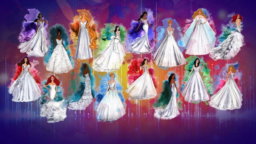 Allure Bridals debuts Disney Fairy Tale Weddings Collection 1
