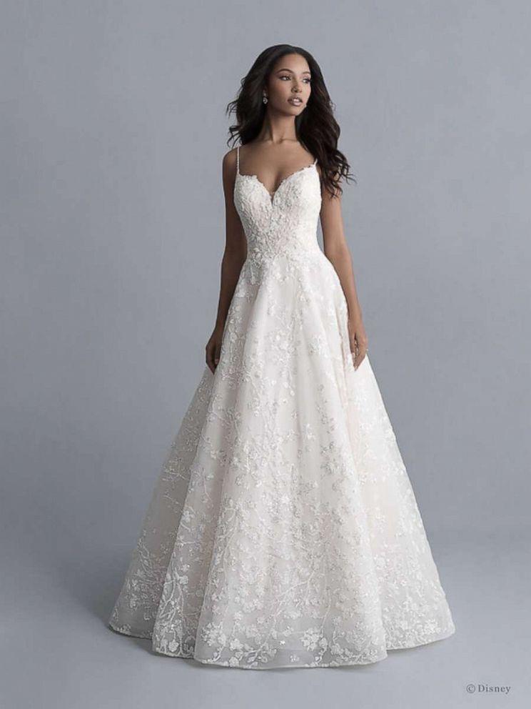 Allure Bridals debuts Disney Fairy Tale Weddings Collection 7