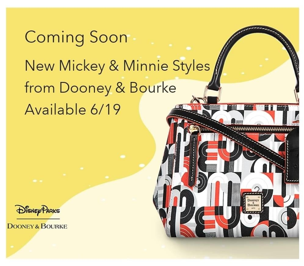 New Mickey & Minnie Styles from Dooney & Bourke Coming Soon! 1