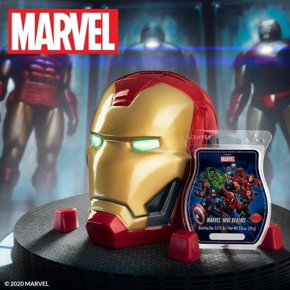 NEW Marvel Goodies from Scentsy! 3