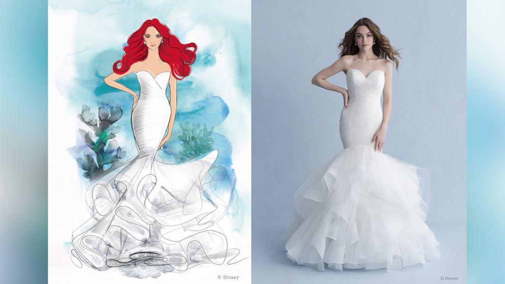 Allure Bridals debuts Disney Fairy Tale Weddings Collection 2