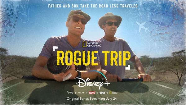"BOB AND MACK WOODRUFF EMBARK ON A JOURNEY AROUND THE GLOBE IN DISNEY+ ORIGINAL SERIES ""ROGUE TRIP 1"