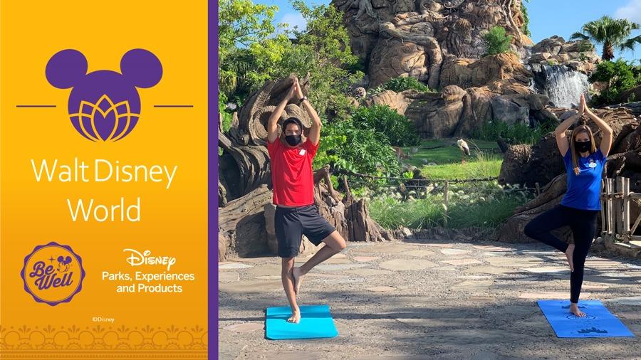 International Yoga Day - Walt Disney World Ambassadors
