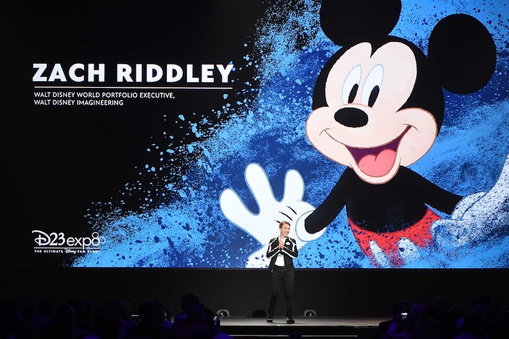 Walt Disney Imagineering Design Visionary Zach Riddley at D23 event