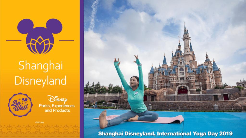 International Yoga Day - Shanghai Disneyland Ambassadors, photo taken at International Yoga Day 2019
