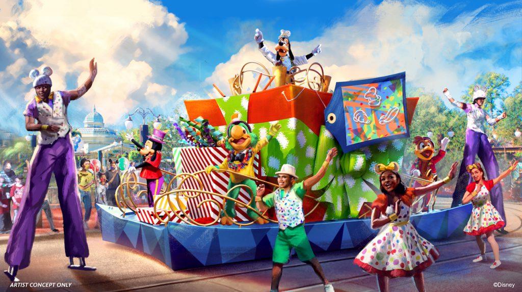 'Goofy Cavalcade' rendering
