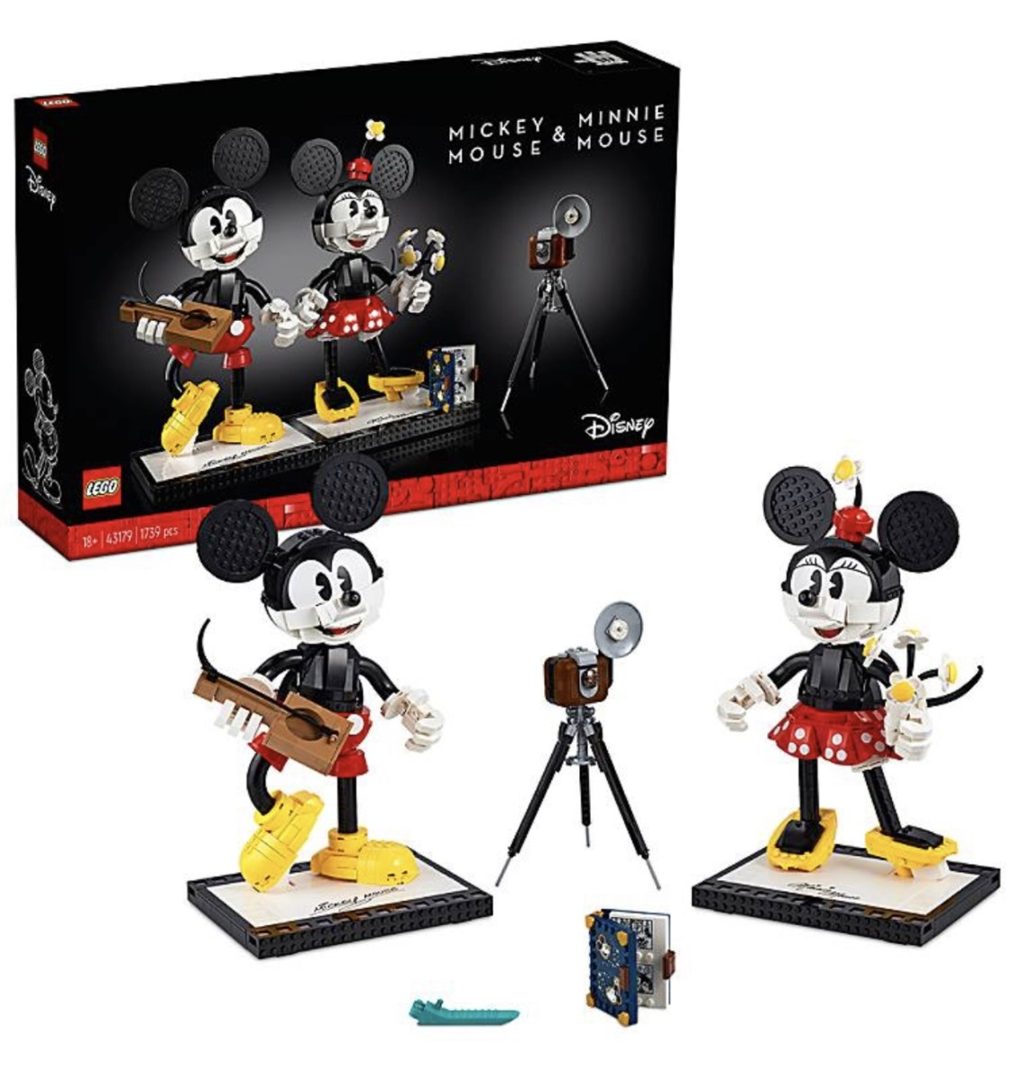 New Mickey and Minnie LEGO Pre-order on shopDisney 2