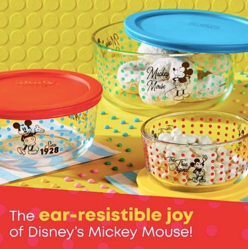 Pyrex releases Mickey Mouse Collection for your dream Disney kitchen! 1