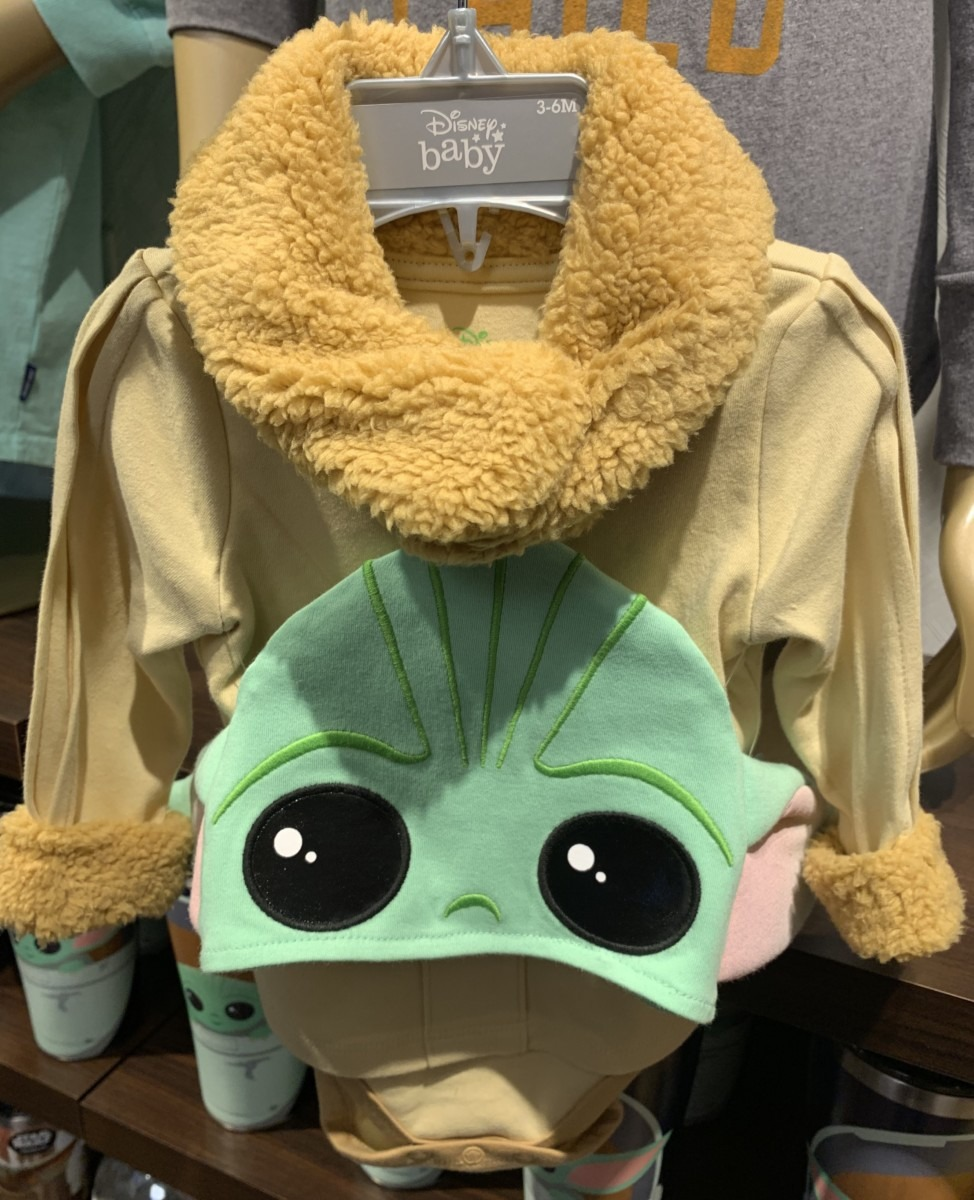 "New ""The Child"" Baby Costume at Hollywood Studios 1"