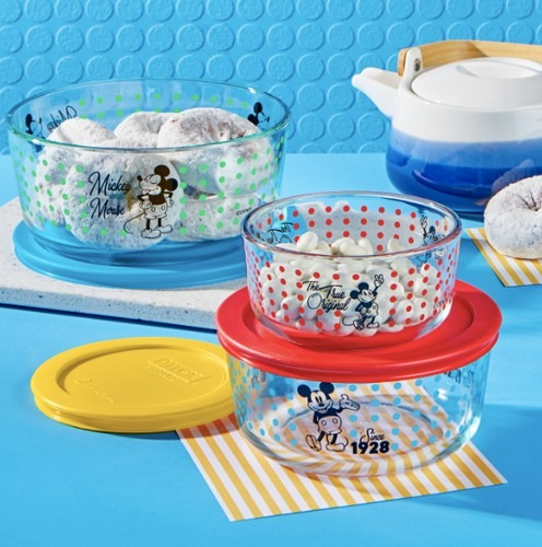Pyrex releases Mickey Mouse Collection for your dream Disney kitchen! 3