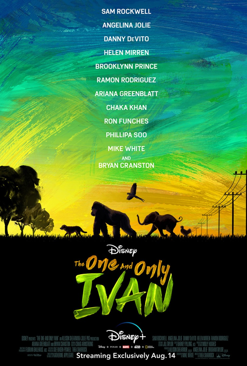 """DISNEY+ DEBUTS HEARTWARMING NEW TRAILER FOR DISNEY'S """"THE ONE AND ONLY IVAN"""" 1"""