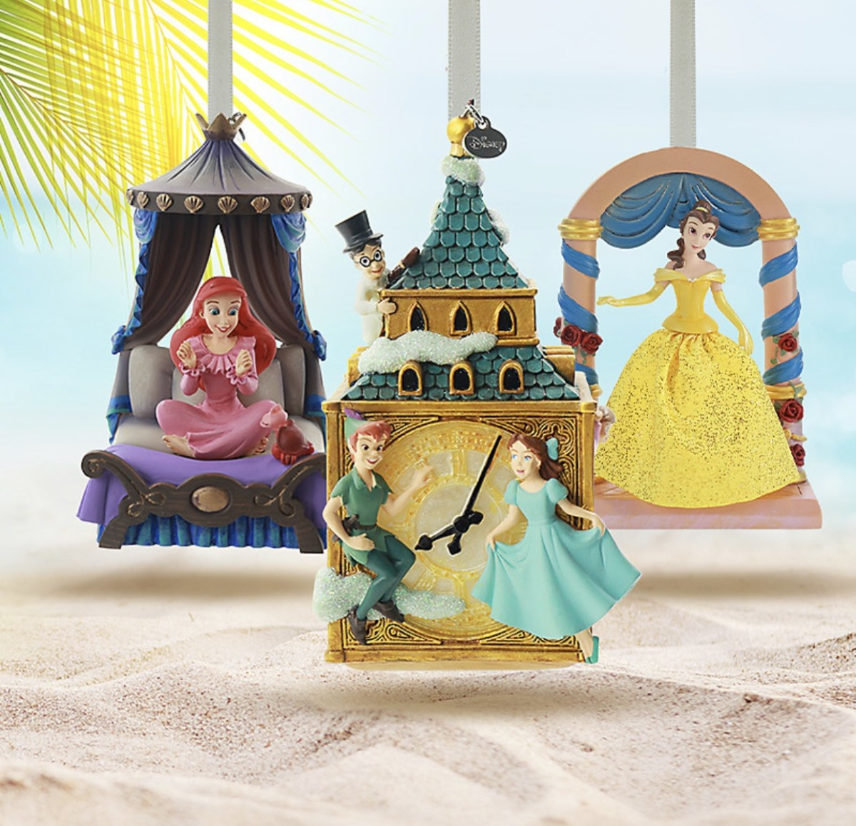 Christmas in July! New Holiday Ornaments on shopDisney 1