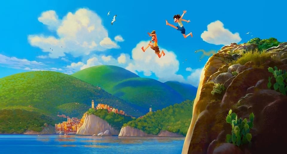 "PIXAR'S NEXT ORIGINAL FILM, ""LUCA"" INVITES MOVIEGOERS TO AN UNFORGETTABLE SUMMER ON THE ITALIAN RIVIERA 2"