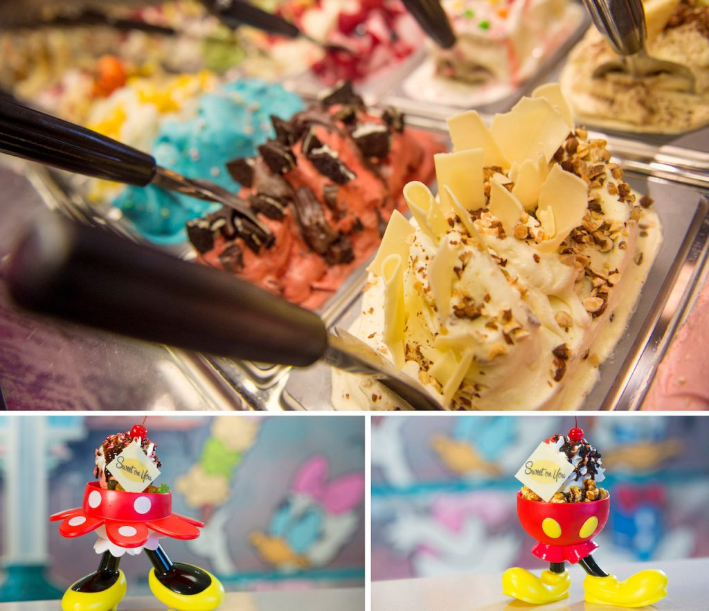 Ice Cream Treats from Disney Cruise Line