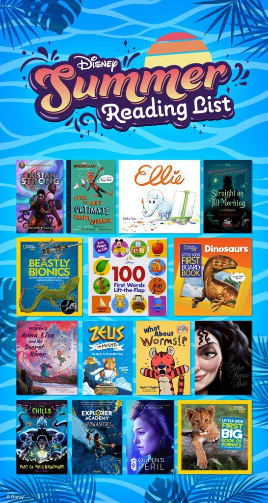 Disney Summer Reading List - Books