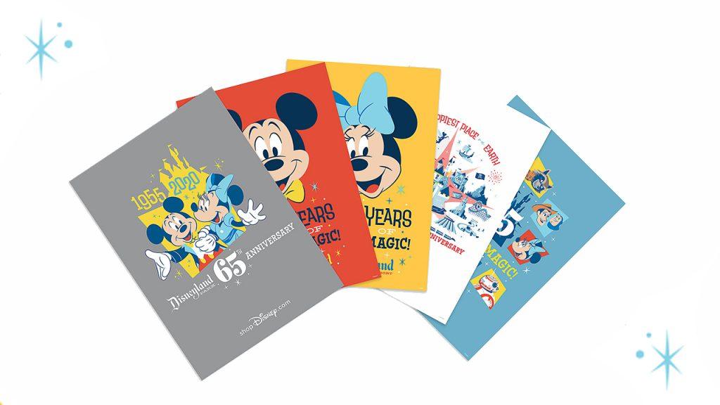 Disneyland Park 65th Anniversary Merchandise