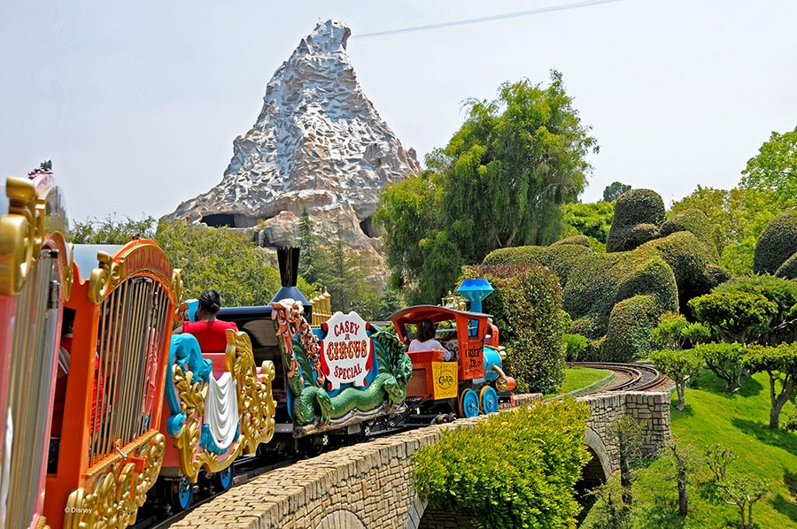 Casey Jr. Circus train, present day