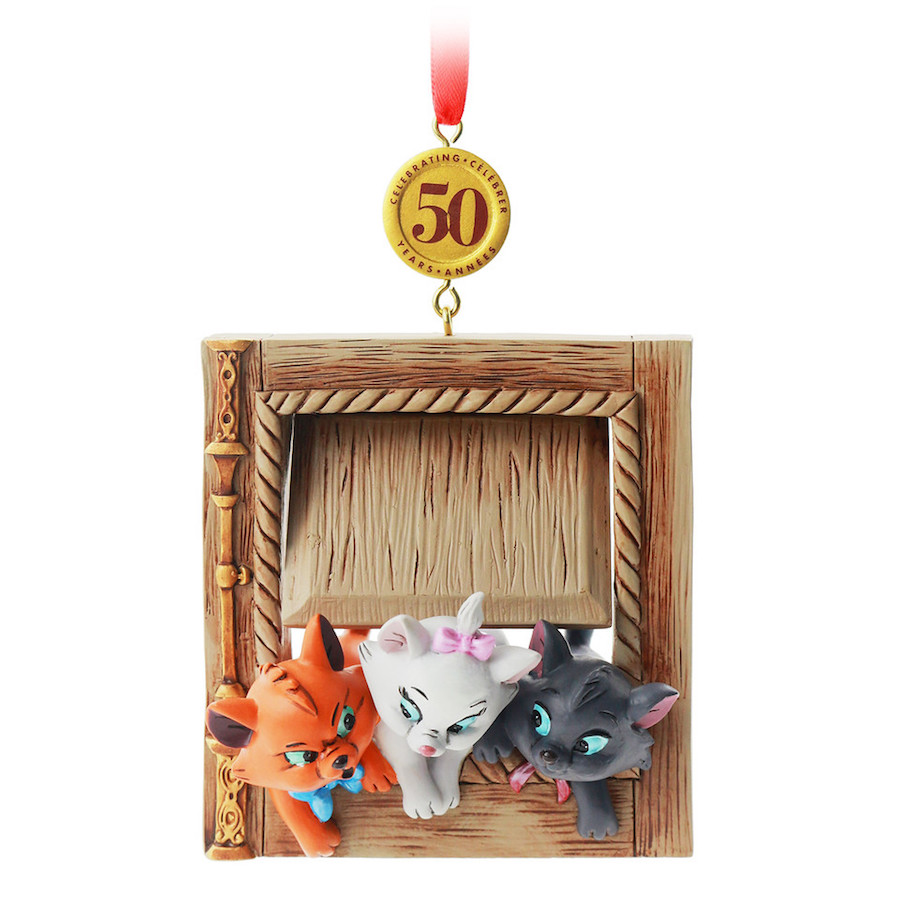 "Disney Sketchbook Ornament Legacy Collection celebrates the 50th anniversary of ""The Aristocats"""